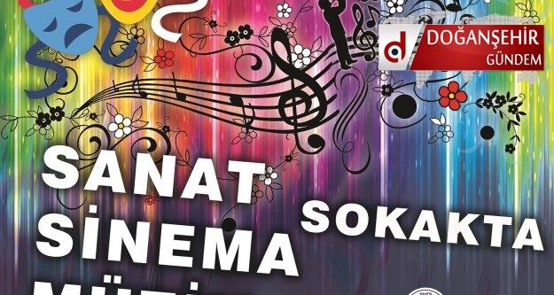 """""""SANAT-SİNEMA-MÜZİK SOKAKTA"""" 16.08.20016 Malatya 'da Başlıyor"""