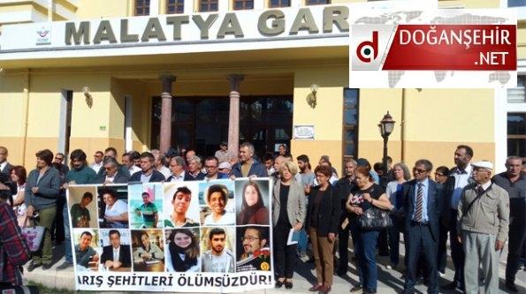 Malatya Barış Şehitleri, Gar Önünde Anıldı