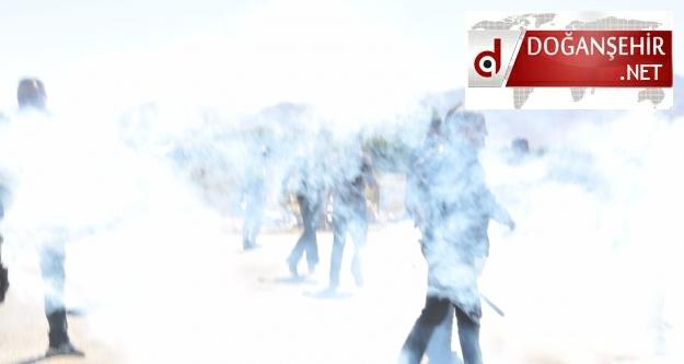 Doğanşehir Tütün Yasağına Karşı yürüdü...( Gazlı Müdahale Var.)