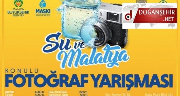"""'SU ve MALATYA"""" KONULU FOTOĞRAF YARIŞMASI"""