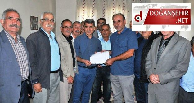 Hüseyin Dulkadiroğu  Chp'de  Doğanşehir Belediye Başkanlığı için Aday Adayı Oldu