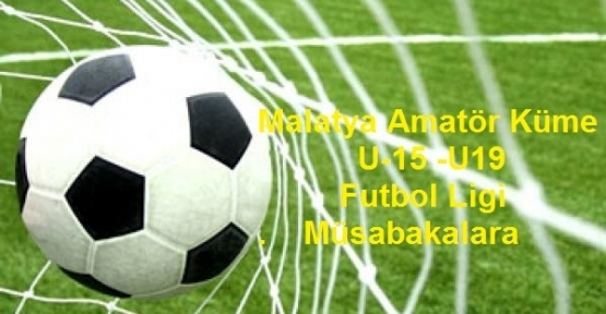 Malatya Amatör Küme Futbol Ligi Bu Hafta Macları
