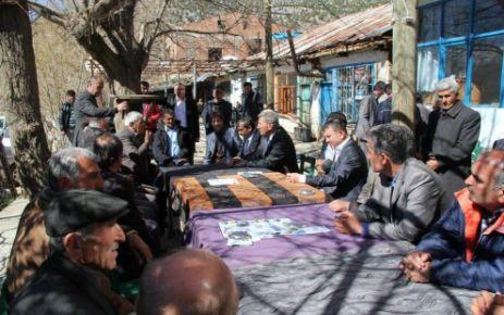 Ağbaba, Doğanşehir'i Ziyaret Etti