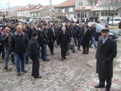 AK Parti Erkenek Seçim Bürosu Törenle Açıldı