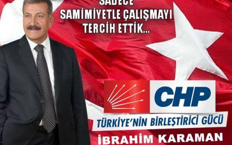 CHP Doğanşehir Belediye Başkan Adayı İbrahim Karaman'ın projeleri