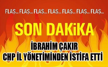 CHP Malatya İl Başkan Yardımcısı İbrahim Çakır istifa etti