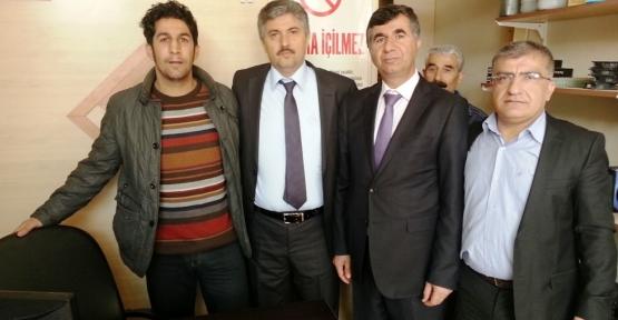 Chp Malatya Yeşilyurt Belediye Başkan adayı  Dogansehirliyiz biz Ekibini Ziyaret Etti