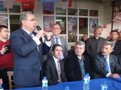 Chp Sürgüde Seçim İrtibat Bürosu Açtı