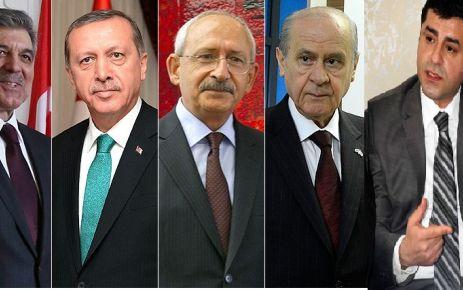 Cumhurbaşkanı ve Parti Liderleri Nerede Oy Kullanacak