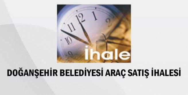 Doğanşehir Belediye Başkanlığı Araç Satış İhalesi