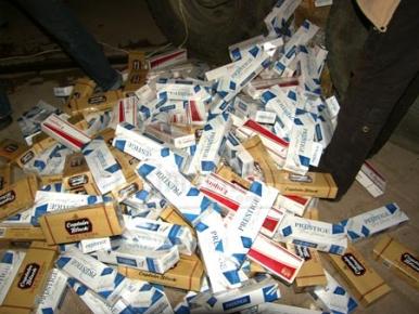 Dogansehir 'de 6 Bin 400 Paket Kaçak Sigara Ele Geçirildi