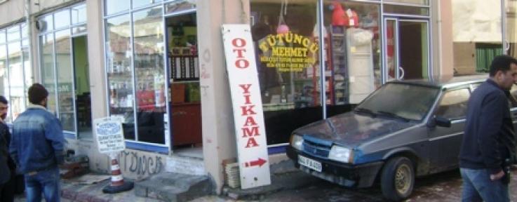 Doğanşehir de tütün mamülleri satan bir iş yerinde gece soygun yapıldı