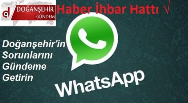 Doğanşehir Haber İhbar Hattı - WhatsApp