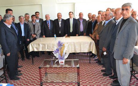 Doğanşehir Kaymakamlığı Köylere Hizmet Götürme Birliği Meclisi Son Kez Toplandı