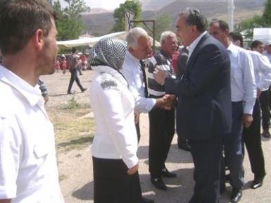 Erkenek Belediye Başkanı Mehmet Bayram ıın Mutlu Günü
