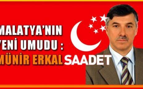 Gülen Cematinin Malatya daki Desteklediği Aday Ahmet Münir ERKAL - Saadet Partisi