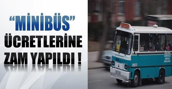Malatya da Minibüs Ücretine Zam