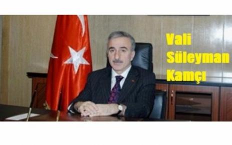 Malatya'nın yeni Valisi Süleyman Kamçı oldu