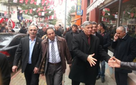 Saadet Partisi, Doğanşehir'i Ziyaret Etti