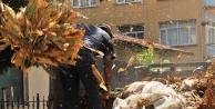 Doğanşehir de kendini yakan çiftçinin tarlasına da göz diktiler