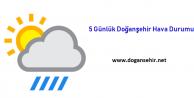 Doğanşehir 5 Günlük Hava Durumu