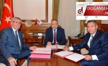 Doğanşehir İçin 200 Öğrencilik Pansiyon Protokolü İmzalandı