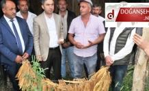 Doğanşehirli Çiftçiye  Destek Ziyareti (Videolu Haber)