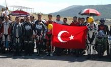 Türkiye Pist Şampiyonası İzmir Park Düzlüğünde yapıldı