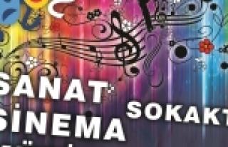 """""""SANAT-SİNEMA-MÜZİK SOKAKTA"""" 16.08.20016..."""