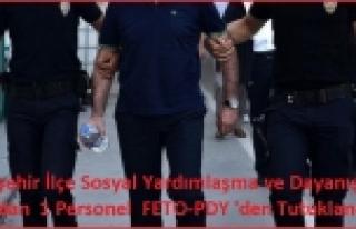 Doğanşehir SYDV'dan 1 Personel FETO-PDY 'den...