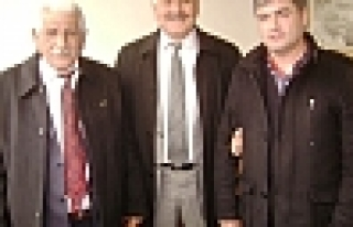 Belediye Başkanlarından AK Parti ye Ziyaret