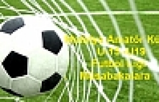 Malatya Amatör Küme Futbol Ligi 9 uncu Hafta Macları...