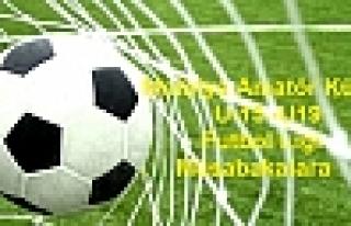 Malatya Amatör Küme Futbol Ligi Bu Hafta Macları...