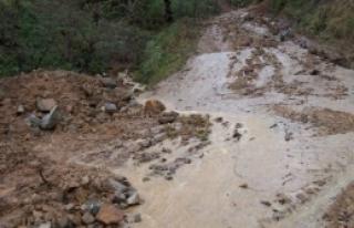 Aşırı Yağış Begre ve Gövdeli mahallelerinde...