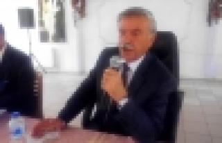 Doğanşehir Belediye Başkanı Vahap Küçük Halk...