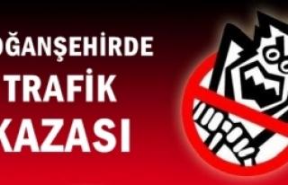 DOĞANŞEHİR'DE TRAFİK KAZASI