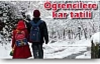 Dogansehirideki Yoğun Kar Yağışından Dolayı...