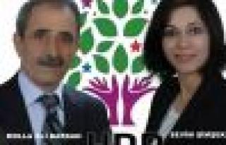 HDP Doğanşehir Belediyesi Eşbaşkan Adaylarının...