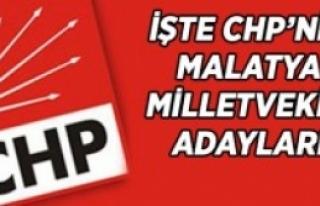 Malatya Chp 'de Listede Değişiklik Yok