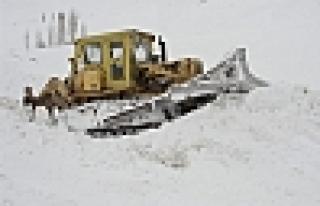 Malatya da Kar Nedeniyle 42 Köy Yolu Kapalı