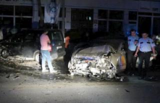 Malatya'da Trafik Kazası 2 Yaralı