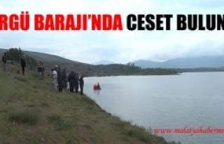 Sürgü Barajı'nda Ceset Bulundu