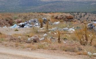 Doğanşehir'in çöpünün cefası Eskiköy Polatdere ve Kelhalil'e kaldı