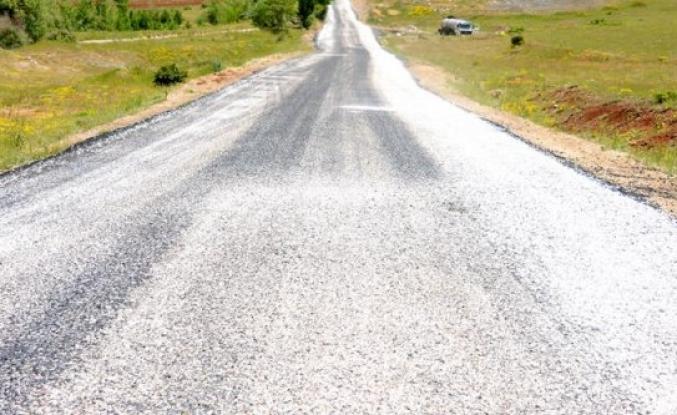 Doğanşehir'e Bağlı Hudut ve Fındık Mahalleri Yol Yapım Çalışmaları Başladı.