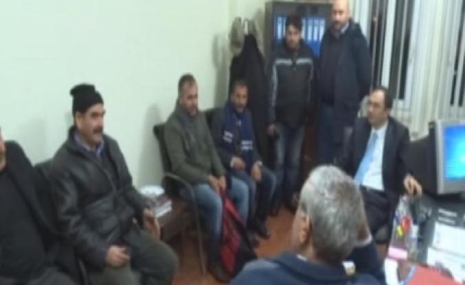 Doğanşehir'de 3 İşçi Donmak Üzereyken Kurtarıldı
