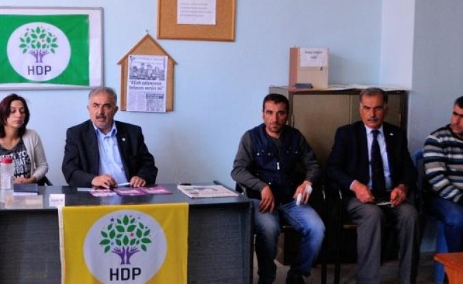 Hdp Doğanşehir  Polat'a Yapılan Saldırıyı Kınadı