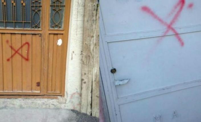 Akçadağ'da evleri işaretleyen şüpheli gözaltına alındı