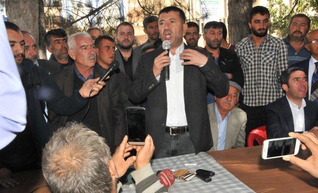 Doğanşehir Chp Malatya Millet Vekilli Veli Ağbaba Tütün Yasağı İle İlgili Basın Açıklması yaptı